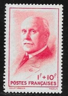 N° 570  FRANCE  -  NEUF  -  AU PROFIT DU SECOURS NATIONAL  PETAIN   -  1943 - Unused Stamps