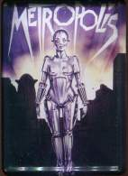 Plaquette En Tole  8x10 Cm  Du Film Metropolis Collectable Tin Card - Plaques Publicitaires