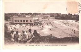 Royan -Charente-Maritime-1934-Conche De Pontaillac -Le Sporting-Casino-Pas Courante-cachet De Thanh-Hoa-Annam-Indochine - Royan