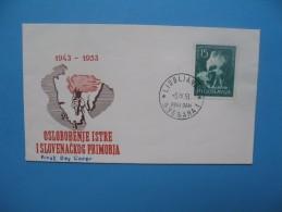 Yougoslavie Année 1953 N° 641 FDC - FDC
