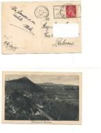 $3-4711 Annullo Meccanico Targhetta Trasportata Via Aerea Postumia Slovenia 1932 Istria - Storia Postale