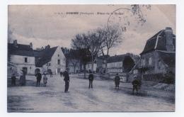 DOMME   24  DORDOGNE PERIGORD  PLACE DE LA RODES - France