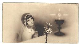 Santino.16 Prima Comunione 1936 - Vecchi Documenti