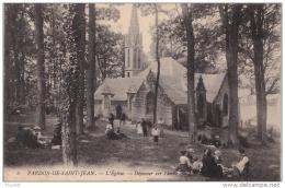 29) PARDON De SAINT JEAN - L ' Eglise - Déjeuner Sur L ' Herbe - (animée) - Frankreich