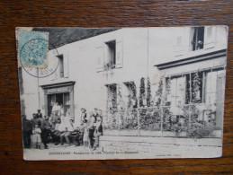 """70.HAUTE SAONE.CPA CENDRECOURT.""""Manoeuvres De 1906.Passage Du 11ème Chasseurs"""".animée.épicerie-mercerie. - Autres Communes"""