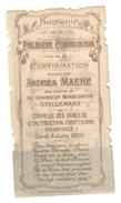 Santino.17 Prima Comunione 1903 - Vecchi Documenti