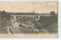 Luxembourg Le Nouveau Pont Coté Ouest - Luxembourg - Ville