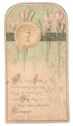 Santino.19 Prima Comunione 1907 - Vecchi Documenti