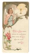 Santino.21 Prima Comunione 1908 Gand - Vecchi Documenti