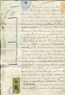 CERTIFICADO DE MATRIMONIO REGISTRO CIVIL  AYACUCHO REPUBLICA ARGENTINA 1915  ZTU. - Historische Documenten