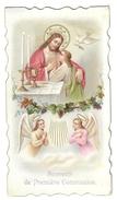 Santino.22 Prima Comunione 1901 Notre-dame - Vecchi Documenti