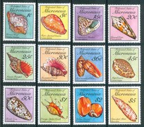 1989 Micronesia Conchiglie Shells Coquilles Set MNH** Fo58 - Micronesia