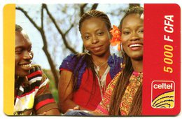 @+ Niger - Prépayée Celtel - 5000 FCFA - Niger