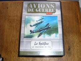 """DVD Reportages Et Images D´archives,""""AVION DE COMBAT,LE SPITFIRE"""" - Documents"""