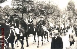 CARTE PHOTO : HALLE SAALE Feiere REITER PFERDE 26/06/1907 - Halle (Saale)