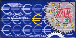 """ITALIA REPUBBLICA - 1998. LIBRETTO """"ESPOSIZIONE MONDIALE DI FILATELIA"""" (L20) NUOVO* * - 1946-60: Mint/hinged"""