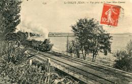 GOLFE JUAN(ALPES MARITIMES) TRAIN - Other Municipalities