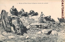 SECTION DE CHARS D'ASSAUTS EN TERRAIN ACCIDENTE TANK TANKISTE ARTILLERIE CHENILLE GUERRE PANZER - Ausrüstung