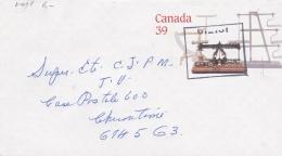 Canada Postal Stationary Weight Scale Used 1990 (G86-49) - 1953-.... Elizabeth II