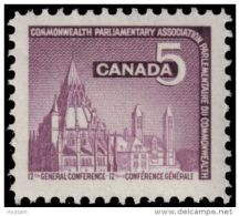 CANADA #450, GENERAL CONFERENCE Of The COMMOWEALTH Parliamentary Association.  Library - Neufs