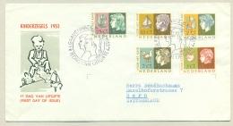 Nederland - 1953 - Kinderzegels Op FDC E15 - FDC
