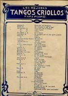 LOSMEJORES TANGOS CRIOLLOS PARA PIANO  ZTU. - Scores & Partitions