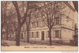 82) MOISSAC - INSTITUTION  JEANNE D ´ ARC - FAÇADE  - (2 SCANS) - Moissac