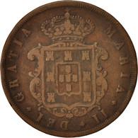 Portugal, Maria II, 20 Reis, 1848, TB, Cuivre, KM:482 - Portugal