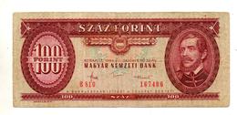 Ungheria - 1984 - Banconota Da 100 Fiorini - Usata - (FDC740) - Hongrie