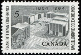 CANADA 1964, # 431,  CHARLOTTETOWN CONFERENCE : MEMORIAL , M NH - Neufs