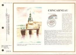 FRANCE     -    1983  .  Feuillet  CEF  N° 688  -   CONCARNEAU - Documents De La Poste