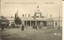 EXPOSITION PROVINCIALE DU LIMBOURG  A ST. TROND   1907  (  ECRITE 1907  ) - Sint-Truiden