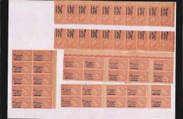 FRANCE - Timbres Fiscaux - 50 Timbres - Taxe Paiements  Controle  Et Contrôle - Diverses Valeurs - Revenue Stamps