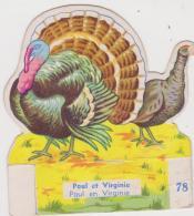 FROMAGES FRANCO SUISSE CHROMO N°  78 PAUL ET VIRGINIE - Alte Papiere