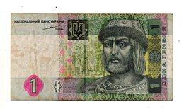 Ucraina - 2004 - Banconota Da 1 Grivnia - Usata - (FDC744) - Ukraine