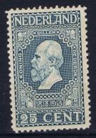 Netherlands: NVPH Nr 96  MNH/**/postfrisch/neuf Sans Charniere  1913 - Unused Stamps