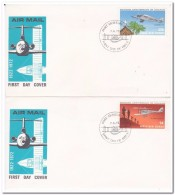 Papua New Guinea 1972, FDC, Airplanes - Papouasie-Nouvelle-Guinée