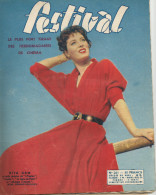 Revue Festival No 261   1954 Rita Gam  La Belle De Cadix Giselle Pascal Jacqueline Porel - Revistas