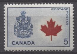 CANADA 1964. # 429A, PROVINCIAL  FLOWERS & COATS Of ARMS, CANADA   MAPLE LEAF , MNH - Neufs