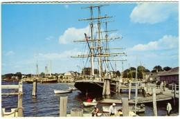UNITED STATES AMERICA  CONNECTICUT  MYSTIC  Mistic Museum  A Living Maritime Museum  Ship Joseph Conrad - New Britain