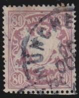 Bayern  .     Michel    .     68     .            O             .          Gebraucht  /  Cancelled - Bavaria