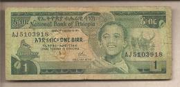Etiopia - Banconota Circolata Da 1 Birr - 1987 - Ethiopie