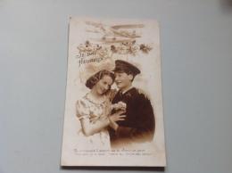 105 - JE SUIS HEUREUX Je Caressais L'espoir De Te Cherir Un Jour Souvent Je N'osais Croire... (aviateur) - 1946 - Couples