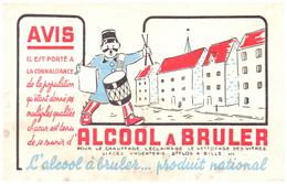 Alc B/Buvard Alcool A Bruler  (N= 2) - Buvards, Protège-cahiers Illustrés