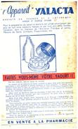 Ap Y/ Buvard   Appareil Yalacta  (N= 1) - Buvards, Protège-cahiers Illustrés