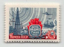 RUSSIA, MI  2082 , SC 2063 RADIO DAY, ** / MNH - Unused Stamps