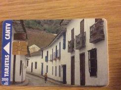 Nice Chip Card Venezuela - 2000B$  Streets In Town - Fine Used Condition - Venezuela