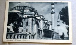 TURCHIA 1932, ISTANBUL MOSQEE DE SULEIMAN   VIAGGIATA - Turchia