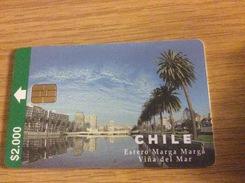 Nice Chip Card Chile 2000$ Vina Del Mar - Fine Used Condition - Chile