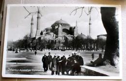 TURCHIA 1931, ISTANBUL MOSQEE DE SAINTE SOPHIE  VIAGGIATA - Turchia